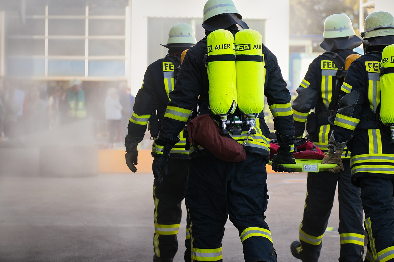 fire fighting, helm, firefighters
