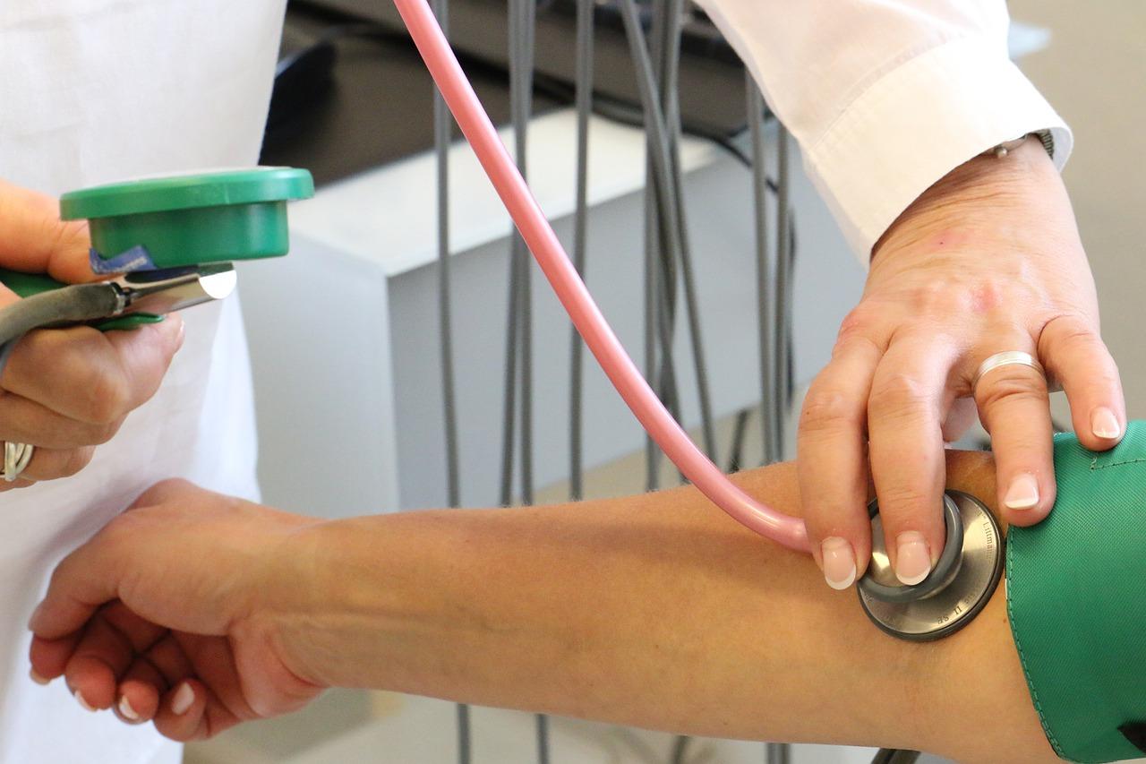 doctor, investigation, blood pressure